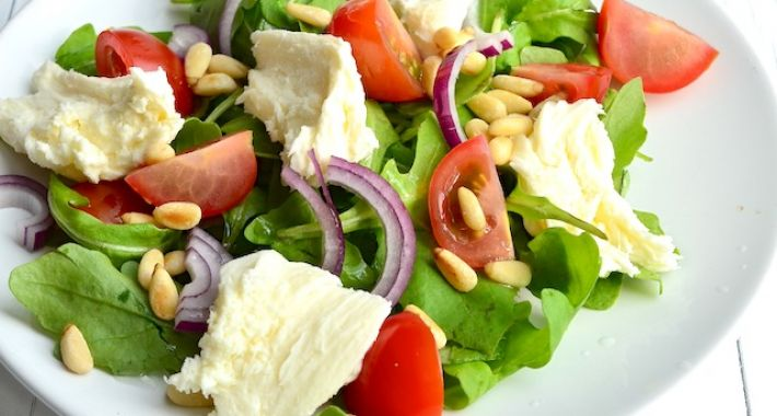 Recept salade tomaat mozarella